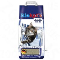 Biokats Micro kattenbakvulling - - 15 l