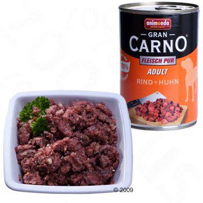 Animonda GranCarno Adult 6 x 400 g - Pure Beef