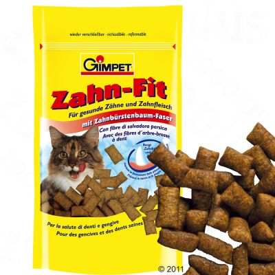 Gimpet Tooth-Fit Cat  Dental Snack - 50 g