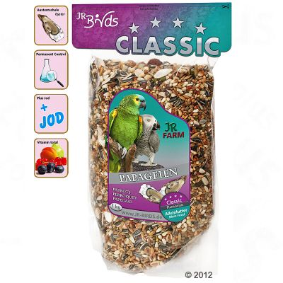 JR Birds Classic Parrot Feed - 4 kg
