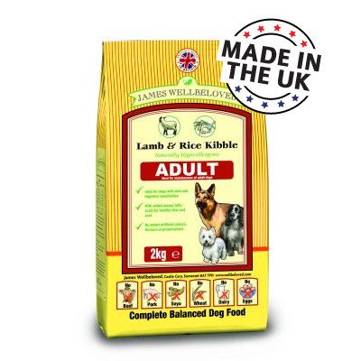 James Wellbeloved Adult Complete Lamb & Rice - 2 kg