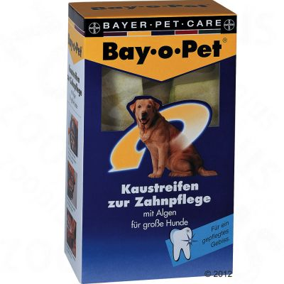 Bay-o-pet Dental Care Chew Strips - Large Dogs - 140g