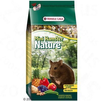 Mini Hamster Nature pour hamster nain - 2 x 400 g