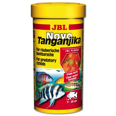 JBL NovoTanganjika Flakes - Cichlids - 1000 ml
