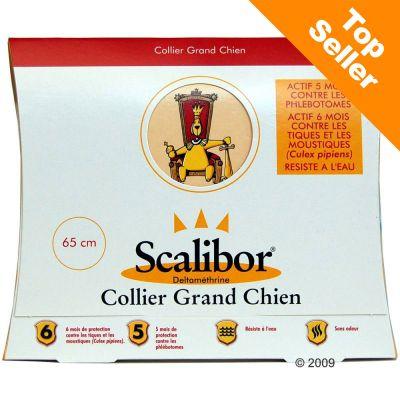 Collier insecticide Scalibor- chien de grande taille : L 65 cm