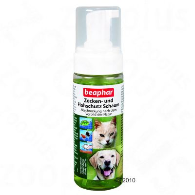Beaphar Tick and Flea Protection Foam - 150 ml