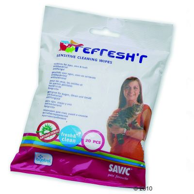 Savic Refresh´r Wipes Sensitive - 20 Stueck