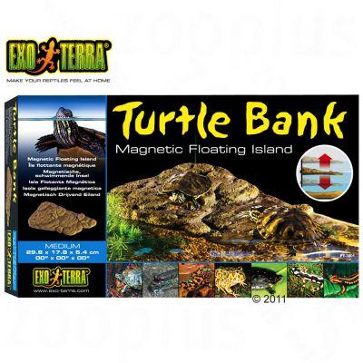 Hagen Exo Terra Turtle Bank - Dimensions: 29.8 x 17.8 x 5.4 cm (H x L x W)