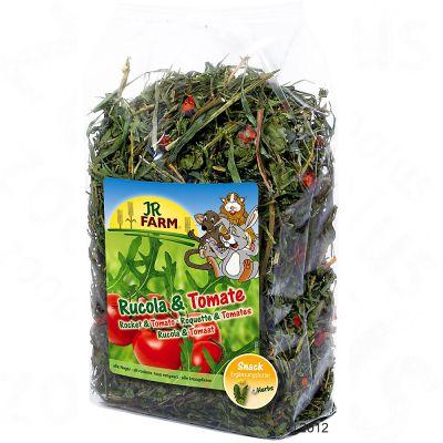 JR Farm Roquette et tomate pour rongeur - 2 x 200 g