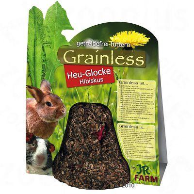 JR Grainless Cloche de foin, hibiscus pour rongeur - 2 friandises