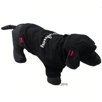 Rodney Sweat Hoody in black - Size S : 20 cm back length
