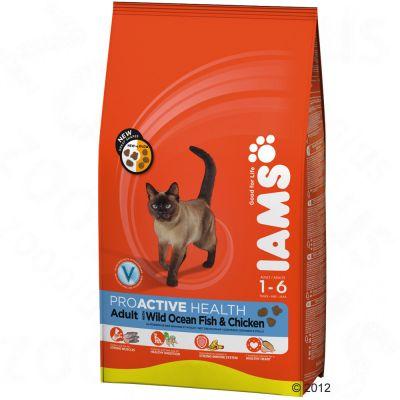 Iams Proactive Health Adult Cat - Wild Ocean Fish & Chicken - Economy Pack: 2 x 10kg
