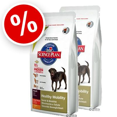 Hill's Canine Healthy Mobility Large Breed - Economy Pack: 2 x 12 kg