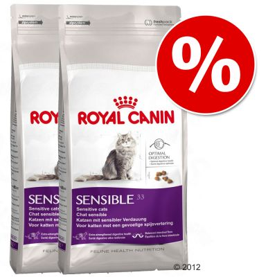 Royal Canin Feline Dry Cat Food Economy Packs - Fit Adult Cat 2 x 10kg