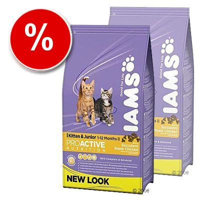 Iams Kitten & Junior - Economy Pack: 2 x10 kg
