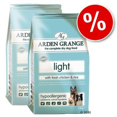 Arden Grange Dog Adult Light Chicken & Rice - Economy Pack: 2 x 15 kg