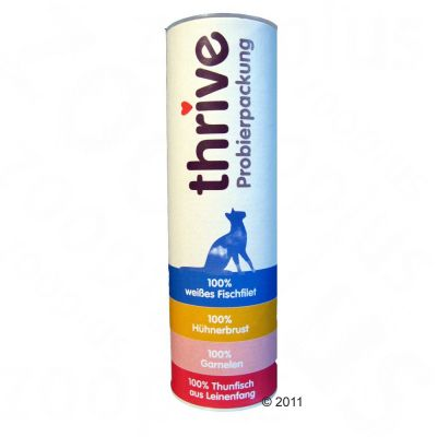 Thrive Cat Snacks Sample Pack - 5 g  (4 varieties)