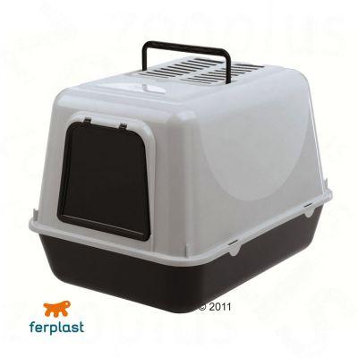 Maison de toilette pour chat Prima- noir