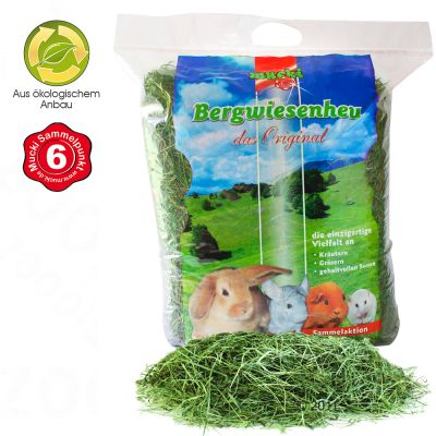 Mucki Mountain Meadow Hay - 60 l; approx. 1.6 kg