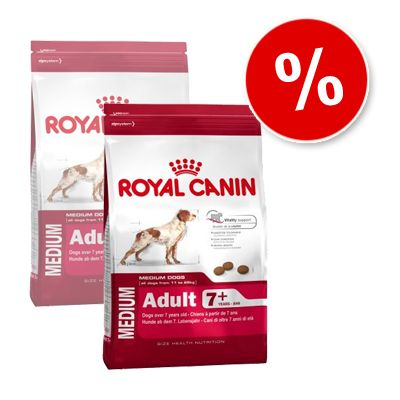 Royal Canin Medium Adult 7+ - Economy Pack: 2 x 15 kg
