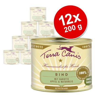 Terra Canis Saver Pack 12 x 200g - Turkey with Broccoli, Pear & Potato