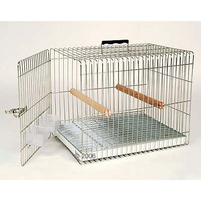 Essegi Carry Parrot and Large Parakeet Transport Cage - Dimensions: 37cm x 50cm  x 40cm