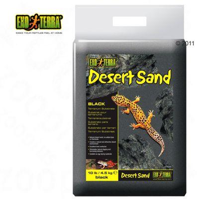 Substrat noir pour terrarium Hagen Exo Terra Desert Sand- 4,5 kg