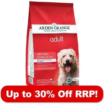 12kg Arden Grange Dry Food - Up to 30% Off RRP!* - Puppy/Junior Large Breed Chicken & Rice