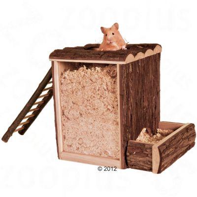 Tour de jeu Diggy pour hamster et gerbille - L 25,5 x l 20 x H 24,5 cm