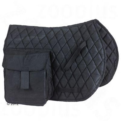 Chabraque de randonnée à poches latérales- noir