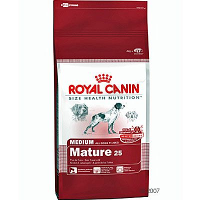Royal Canin Medium Mature 25 Hundefutter - Sparpaket 2 x 15 kg