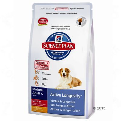 Hill's Science Plan Mature7+ Active Longevity Medium Chicken - Economy Pack: 2 x 12kg