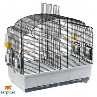 Ferplast Canto Black Cage - L 71 x W 38 x H 60 - black