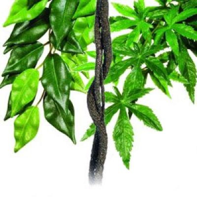 2 plantes artificielles en soie + liane Flexible Hagen- 2 plantes en soie + liane de décoration (5 mm)