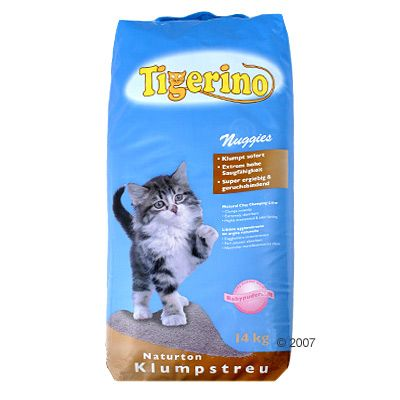 Tigerino Nuggies Cat Litter - 14 kg