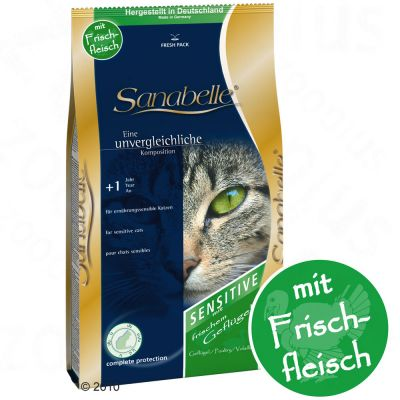 Sanabelle Sensitive mit Gefluegel - 400 g
