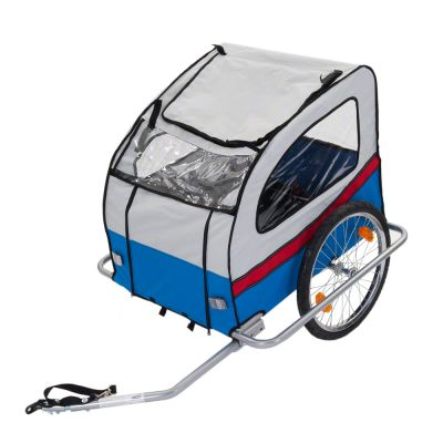 Bike Trailer for Dogs Voyager - 140 x 90 x 90 cm (L x W x H) / up to 40 kg
