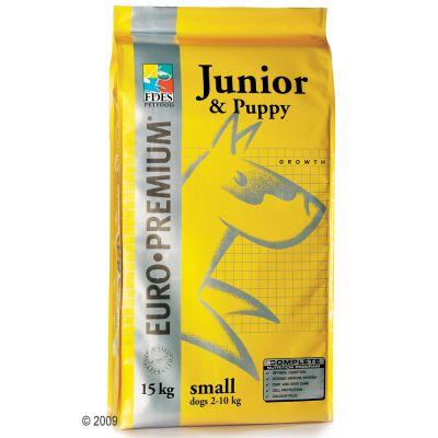 Euro Premium Junior & Puppy Small - Economy Pack: 3 x 4 kg