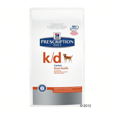 Hill's KD Prescription Diet Canine - Renal Health - Economy Pack: 2 x 12kg