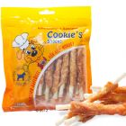 Cookie's Delikatess Chew Roles with Chicken Fillet Strips - 200 g