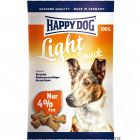 Happy Dog Light Snack - Saver Pack: 3 x 100 g
