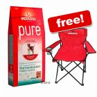 Large Bag of Mera Dog + Folding Camping Chair Free! - Light (12.5 kg)