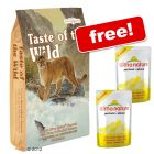 2.27 kg Taste of the Wild + 2 Almo Nature Pouches Free! - Canyon River Feline