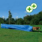 Trixie Agility Collapsed Tunnel (Chute) - Measurements:  60cm,  5m long - Dog Sports & Training