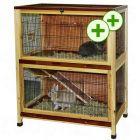 Small Pet Cage Indoor - 100 x 54 x 118 cm (L x W x H)