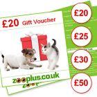 Zooplus Gift Voucher - Value: £25