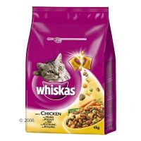 Whiskas droogvoer Adult 4 kg - - kip, groenten & Knackit