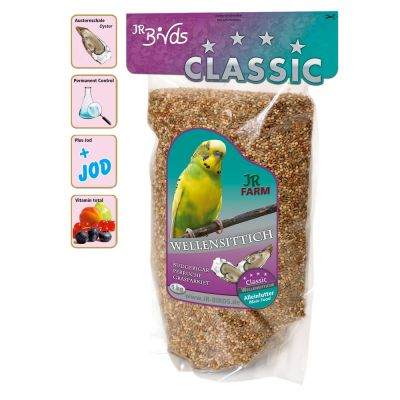 JR Birds Classic Budgie Feed - 4 kg