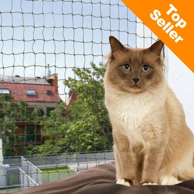 Trixie Biteproof Cat Net - Olive - 2 x 1.5m