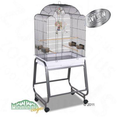 Montana Bird Cage Memphis I - platinum: 56 x 43 x 140 cm (LxWxH) (2 parcels*)